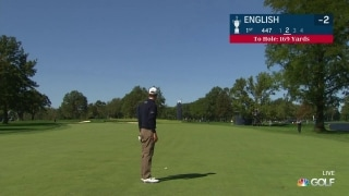 U.S. Open Day 3: English sticks approach on opening hole