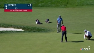 U.S. Open Day 3: Wolff ties the lead with ANOTHER birdie, on No. 7