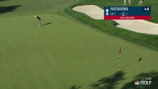 U.S. Open Day 3: Joaquin Niemann sinks a 63-footer on No. 13