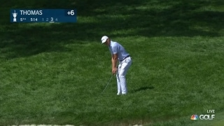 U.S. Open Day 4: JT pitches to gimme distance on par-4 fifth