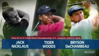 An exclusive group: Jack, Tiger and now Bryson
