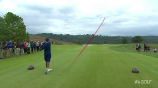 348 yards! Tiger wins long-drive contest at Payne's Valley