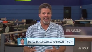 Will courses start to 'Bryson-proof?'