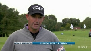 Harrington: There was relief when the Ryder Cup was postponed