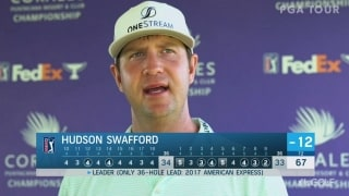 Swafford (67) on hornet sting: 'Kind of a good omen'