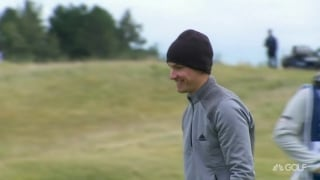 Hojgaard drops back-to-back birdies