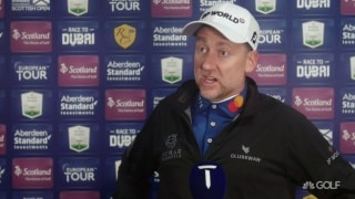 Poulter, Fleetwood size up horrendous weather conditions in Scotland