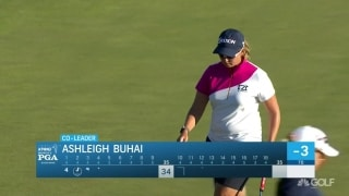 Buhai sinks long birdie putt to tie lead at KPMG