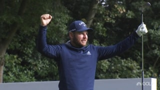 'Did that go in?' Smith makes hole-in-one at BMW PGA