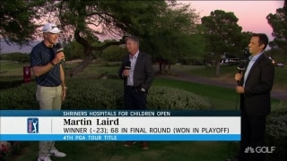 'This might be the best one': Laird after winning Shriners Hospitals Open
