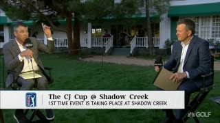 Oberholser: Wind was a factor on Day 1 at Shadow Creek