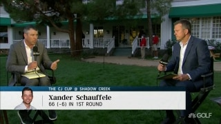 Oberholser: Schauffele can play 'anywhere, anytime, anyplace'