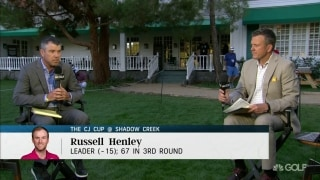 Oberholser: Henley 'tough to beat' ... if he can trust putter