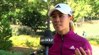 Kang (70): Birdie chances went down, but 'I know I'm rolling it well'