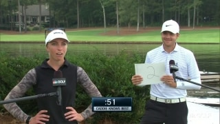 Caddie knows best: Sophia Popov and Max Mehles
