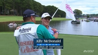 Best birthday ever! McDonald wins first LPGA event at Reynolds