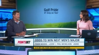PointsBet Tiger, Mickelson odds to win the Masters