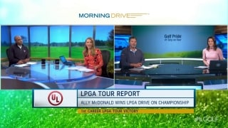 LPGA Tour Report: McDonald wins first LPGA title in Georgia