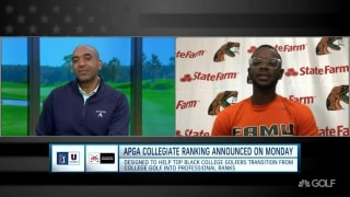 Race & Sports in America: Florida A&M's Dillard discusses APGA/PGA Tour U partnership