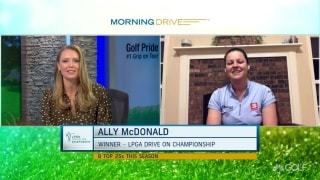 McDonald relives her first LPGA win on her 28th birthday