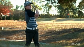 Hunter Hedgecoe's battle to get out of the hospital and onto the course