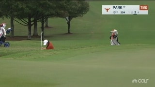 Texas' Ashley Park holes bunker shot in ELC semifinals
