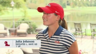 Ole Miss' Johnson: 'I love the pressure and helping my team achieve'