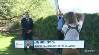Jim Richerson succeeds Suzy Whaley as 42nd PGA president