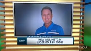 How will history look back on golf in 2020?