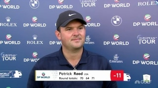 Reed: Win in Dubai 'would be unbelievable'