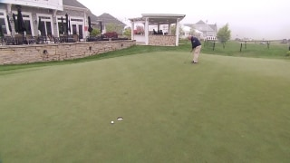 Kendall: Putt to high side of hole on undulating greens