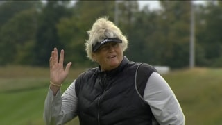 Davies rolling with two-shot lead at Senior LPGA Championship