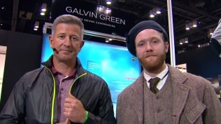 Ginella finds young Tom Morris in Galvin Green booth