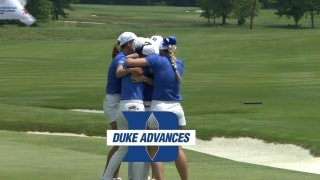 Freshman G. Kim wins final point to advance Duke into the NCAA finals