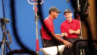 Conor Moore: Behind the scenes at Bridgestone Tiger Woods shoot