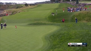 Highlights: Thomas holes out from gnarly stuff on 9