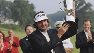 Caddie confidential: Memories from Bubba's first Travelers win
