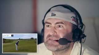 Accidental commentary: Irish golf fans get pranked