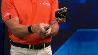 Sones: Control the putter face to control the ball