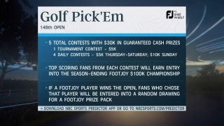 Golf Pick 'Em games & prizes for the 148th Open Championship