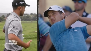 Swing Expedition: Schauffele explains hammer and nail drill