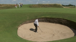 Gary Player shares bunker secrets
