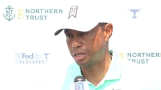 Tiger on Liberty National: 'Huge premium' on finding fairway