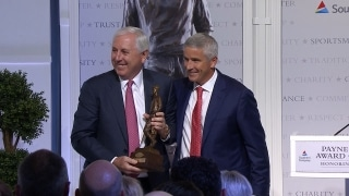 Full ceremony: Irwin honored with Payne Stewart Award