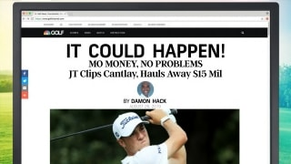 'It Could Happen' Headlines: 'Mo money, no problems' for JT at East Lake