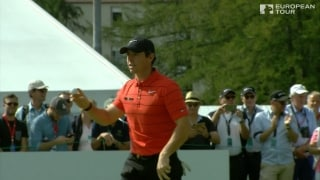 Highlights: McIlroy four off lead at Omega European Masters