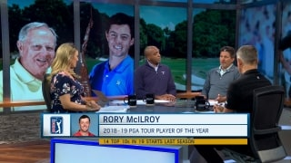Damron on PGA Tour POY: Rory won the flagship events