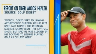Woods reportedly cleared to resume playing golf