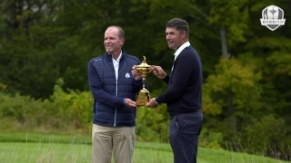 One year out: Stricker, Harrington preview 2020 Ryder Cup
