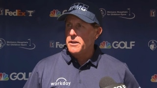 Mickelson getting closer: 'This week was a good start on that process'